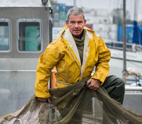 Weervisser Henk van Schilt