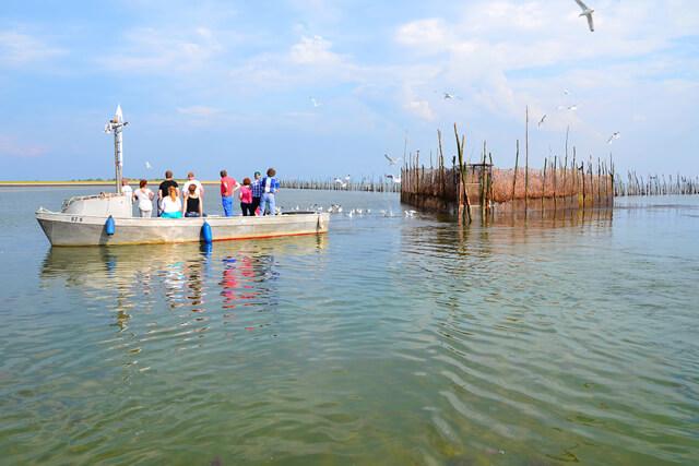 Vaartochten naar de weervisserij