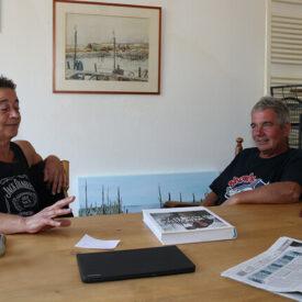 Rian van Dort en Henk van Schilt